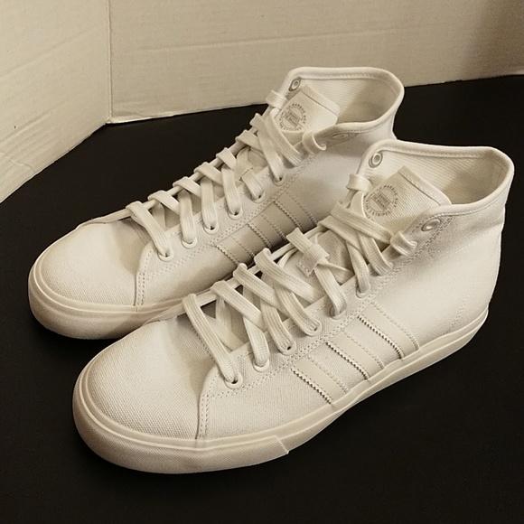 d00e0716ba3 adidas Other - Adidas white Matchcourt High Rx shoes